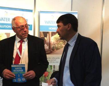 Spotkanie z producentami Water Retainer w Poznaniu